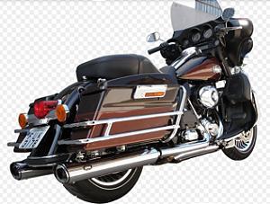 "Ponteira para Escapamento Torbal Oval Harley Davidson Electra Glide e Road King 04-16 4 "" 1/2 Polegadas"