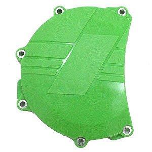 Protetor da Tampa de Embreagem Kawasaki Kxf 450 06-15 Verde Red Dragon