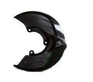 Protetor Disco de Freio Dianteiro Motos KTM Sx Exc Sxf Excf Preto Suporte Red Dragon