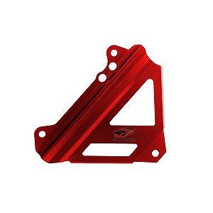 Protetor do Radiador Honda Crf 250 Crf 450 R Aluminio Vermelho Red Dragon Par