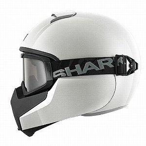 Capacete Moto com Óculos Shark Vancore Blk Preto