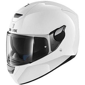 Capacete Moto Shark D-Skwal Blank Whu Branco