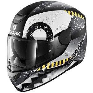 Capacete Moto Shark D-Skwal Saurus Matt Kwa