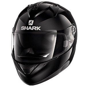 Capacete para Moto Shark Ridill Blank Blk Preto