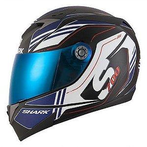 Capacete para Moto Shark S700 Tika Matt Kbw Azul