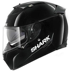 Capacete para Moto Shark Speed-R 2 Blank Blk Preto Pulse Division
