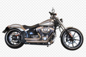 "Escapamento Torbal Harley Davidson Breackout 2014 a 2017 2""1/4 Short Shot Lateral"