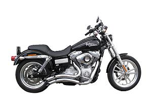 "Escapamento Torbal Harley Davidson Dyna Super Glide 2008 a 2011 2"" 1/4  Furia Corte Lateral"