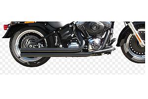 Escapamento Torbal Harley Davidson Fat Boy 012-017 Long. Corte Reto (Sonda Lambda Pequena)