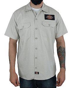 Camisa Dickies Twill Soft Areia