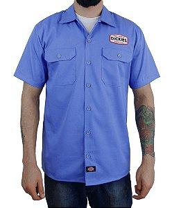 Camisa Dickies Twill Soft Azul Claro