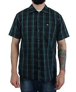 Camisa Dickies Xadrez Preto