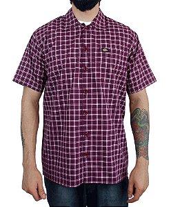 Camisa Dickies Xadrez Bordo