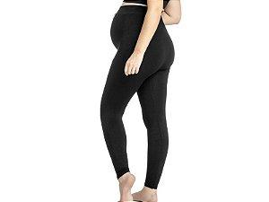 Calça Maternity Sem Costura Preta