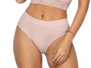 Calcinha Ribana Comfort Details Blush
