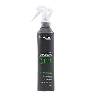 ACQUAFLORA Light Spray Hidratante 2em1 Proteínas de Quinoa e Linhaça 240ml
