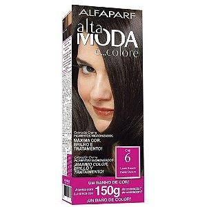 ALTA MODA é ... Colore Coloração Permanente 6 Louro Escuro