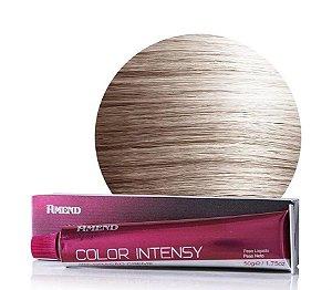 AMEND Color Intensy Coloração Permanente 10.1 Louro Claríssimo Acinzentado