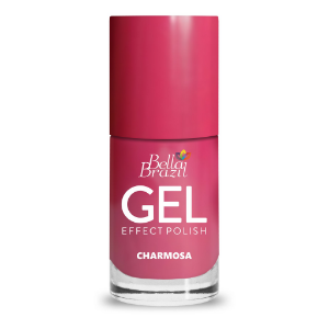 BELLA BRAZIL Esmalte Efeito Gel Charmosa 8ml