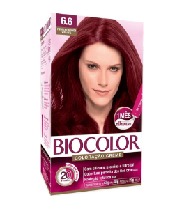 BIOCOLOR Coloração Permanente Kit 6.6 Vermelho Intenso Vibrante