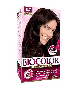 BIOCOLOR Coloração Permanente Kit 6.7 Marrom Natural Irresistível
