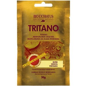 BIO EXTRATUS Creme de Tratamento de Choque Tritano 30g