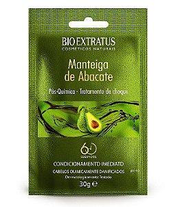 BIO EXTRATUS Pós-química Manteiga de Abacate Tratamento de Choque 30g