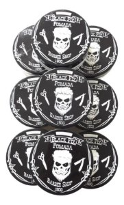 BLACK FIX Pomada Modeladora Barber Shop Incolor 150g Kit 12un