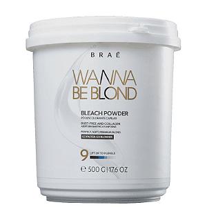 BRAÉ Wanna Be Blond Pó Descolorante Beach Powder 500g
