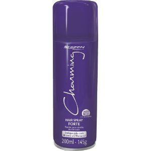 CHARMING Hair Spray Fixação Forte 200ml
