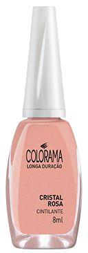 COLORAMA Esmalte Cintilante Cristal Rosa