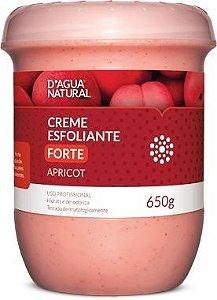 D'ÁGUA NATURAL Creme Esfoliante Apricot Forte Abrasão 650g