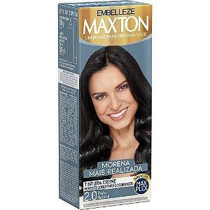 EMBELEZZE Maxton Coloração Permanente Kit 2.0 Preto Natural