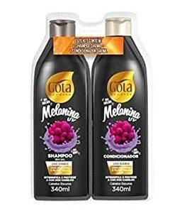 GOTA DOURADA Melanina UV Shampoo + Condicionador 340ml