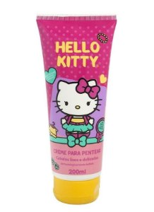 HELLO KITTY Creme para Pentear para Cabelos Lisos e Delicados 200ml