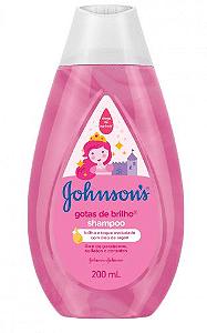 JOHNSON'S Gotas de Brilho Shampoo 200ml