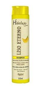 KELMA Liso Eterno Shampoo com Extrato de Banana 300ml