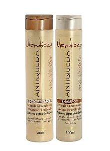 KELMA Mandioca Kit Shampoo + Condicionador Antiqueda 300ml