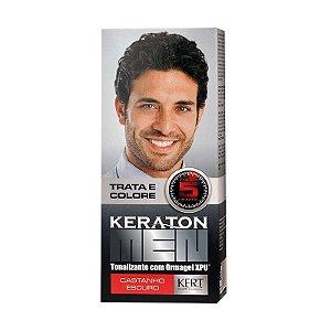 KERATON Men Tonalizante Castanho Escuro 30ml