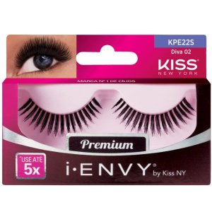 KISS NEW YORK i.Envy Cílios Postiços Diva 02 (KPE22S)