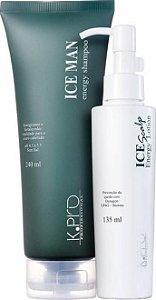 K.PRO Kit Tratamento Prevenção de Queda para Homens