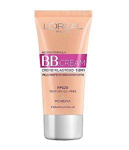 L'ORÉAL PARIS BB Cream FPS 20 Cobertura Natural Morena 30ml