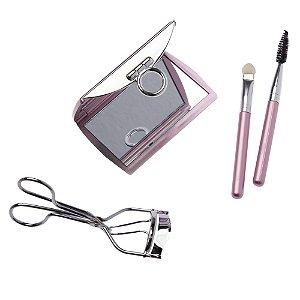 MARCO BONI Kit para Maquiagem Glamour com Espelho cores variadas (1448B)