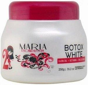 MARIA ESCANDALOSA Máscara Capilar Botox White 250g