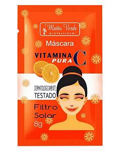 MATTO VERDE Máscara Facial Vitamina C Pura 8g