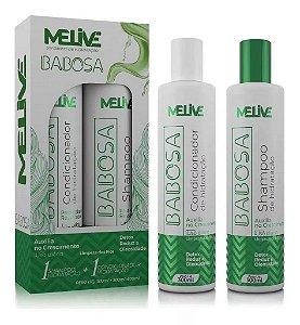 MELIVE Babosa Kit Shampoo + Condicionador de Hidratação 300ml