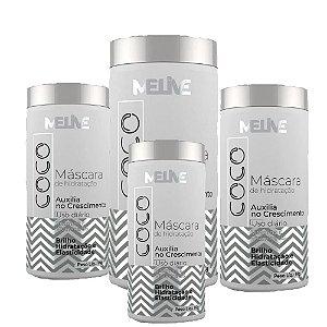 MELIVE Coco Kit Máscara Capilar de Hidratação 1Kg 6un