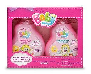 MURIEL Baby Menina Kit Shampoo + Condicionador 100ml