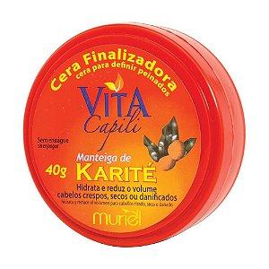 MURIEL Vita Capili Cera Finalizadora com Manteira de Karité 40g