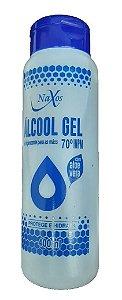 NAXOS Álcool Gel 70º Higienizador de Pele e Mãos 400ml